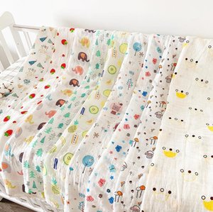 Baby Double Layer Gauze Towel Newborn Summer Thin Newborn Quilt Children Baby Bag Bath Towel Blanket