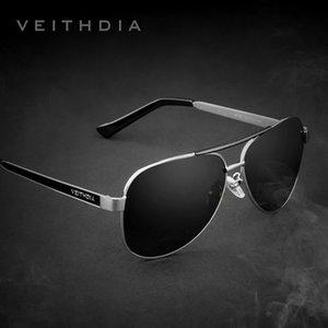 Mens Steel Sun 3152 Vert Brand Lentilles Polarisées Lunettes de soleil Veithdia Veithdia Classic Veithdia Lunettes Accessoires pour hommes Inoxydable GGUKM