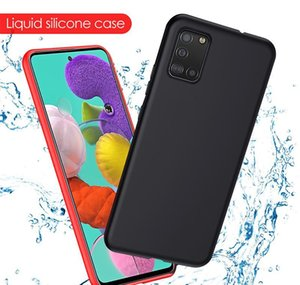 S20 Liquid A50 For Soft Plus Case Note A71 S10 8 9 Samsung 10 Phone 20 A51 Sile A70 Case Galaxy Ultra Shockproof jllUe