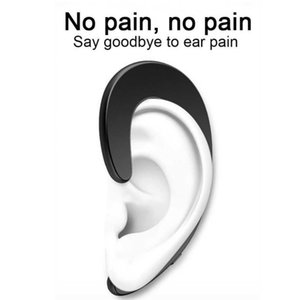 Sport Wireless Bluetooth Earphone Stereo Headset Bone Conduction Bluetooth headphone No earplugs With Mic for Samsung s9 iPhone