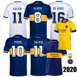 2020 2021 Boca Juniors Soccer Jerseys CARDONA MARADONA DE ROSSI TEVEZ ALEXIS SALVIO MAURO home away 3rd 20 21 football men kids shirt 4XL