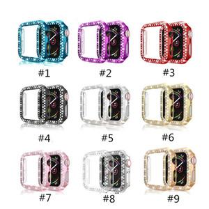 Elma İzle Gen 2 3 4 5 Elmas Electroplating PC Aksesuarları 9 Renk Giyilebilir Teknoloji İçin Koruyucu Kılıfları