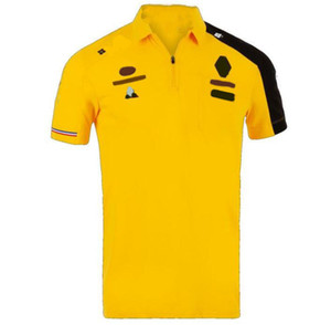 New F1 Racing Traje F1 Fans Polo Shirt, Motorcycle Equitación y Top Quick-Dry Motorcycle Racing Traje Personalización