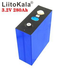 1 stücke liitokala 3.2v 280ah lifeepo4 lithium batterie 3.2v lithium eisen phosphat batterie für diy batteriepack wechselrichterfahrzeug rv