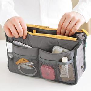 Organizer Insert Bag Women Nylon Travel Insert Organizer Handbag Purse Large liner Lady Makeup Cosmetic Bag Cheap Female Tote1