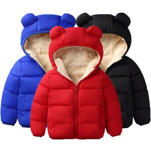 Baby Girls Jacket Autumn Winter Jacket For Girls Coat Kids Warm Hooded Outerwear Coat For Boys Jacket Coat Children Clothes C1118