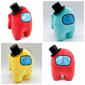Neu unter uns Plüschspielzeug Anhänger mit Hut Beliebt bei US-Spiel Nette Kleine Gefüllte Puppenanhänger Für Erwachsene Kinder