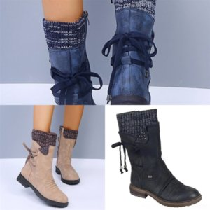 Zekd metropolis قماش القتالية امرأة الأحذية الشتاء الكاحل التمهيد الأحذية leatherankle boots العجل المصممين و ranger أحذية مسطحة كبيرة