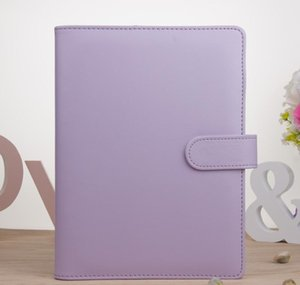 A6 Empty Notebook Binder Loose Leaf Notebooks Pu Leather Notebooks Binder For A6 Filler P sqczsz sports2010