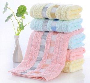 Cotton Bath Towel Baby Kids Washcloth Absorbent Terry Face Hand Beach Towel 77x33cm Microfiber Absorbent Beach Bath