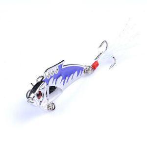 1 шт. VIB металлический спиннер ложка рыболовные приманки 5см 8G реалистичные жесткие приманки вибрации Crankbait Sequins для карпа рыболовные сцены Jllnvv