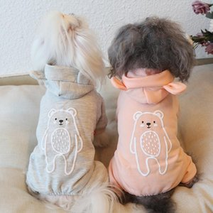 Dog Clothes Cat Dog Bear Cotton Jumpsuits Jacket Coat Fashion PET Clothing For Dogs Pet Winter Warm Products Puppy Chihuahua