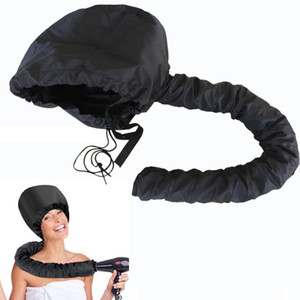 Cap aceite Secador de pelo Inicio barbería peluquería sombrero del capo Caps Adjunto de Cuidado del Cabello Perm Casco de vapor de pelo