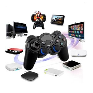 2.4G Wireless Game Controller Joystick Gamepad With Micro USB OTG Converter Adapter For An-droid TV Box For PC PS3
