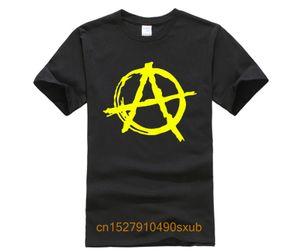 Stampa Uomini Marca Anarchy Symbol T Shirt T Shirt casual Punk Rock T Shirt Bedlam sportiva Felpa con cappuccio Felpa con cappuccio
