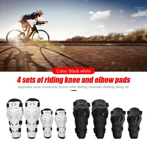 4pcs Set Motorcycle Knee Elbow Pads Guards Racing Cycling Safety Gear Kneepad Motocross Brace Protector Motorbike Protection1