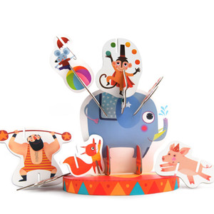 Crazy Circus Stacking Game Puzzle 3D Animal Puzzle Balance Stacking Game