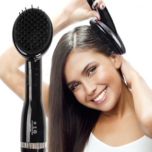 Hoomall 2000W Dryer & Styler Hot Air Paddle Brush Constant Temperature Negative Ion Hair Dryer Straightener For All Hair Types1