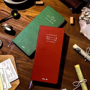 Kawaii Cute Dog Apple Grid Notebook Stationery Diary Agenda Pocket Notepad Planner Weekly Book Travel School Supplies sl2386