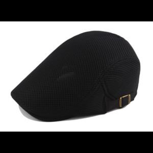 Nuova estate maglia Beret Cap protezione di golf di guida puro cotone Beret svago cappello a punta del sole corolla uomini di modo del cappello piano del sole