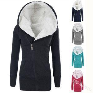 Kadınlar Parkas Kış Coat 2020 Yeni Kadın Kalın Uzun Kapşonlu Sıcak Coats Ceketler Plus Size 4XL CO02