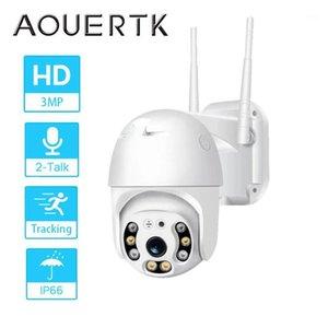 Aouertk HD 3MP كاميرا IP WIFI كاميرا تتبع السيارات الكشف البشري PTZ Speed Dome WiFi Surveillance1