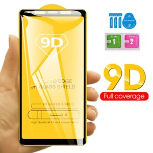 9D Full Cover Glue Tempered Glass Phone Screen Protector For iPhone 12 PRO MAX 11 XR XS MAX 8 7 6 Samsung A11 A21 A21S A31 A41 A51 A71 5G