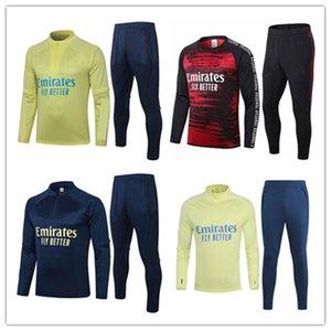 2019 2020 Arsen futebol Treino Football Shirt, Desporto, formação uniforme desgaste Mais recente longa e curta Suit luva cheia Zipper Roupa de Futebol