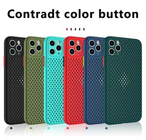 Phone Case For Iphone 12 Mini Pro Max 11 5.4 6.1 6.7 Xs X Xr 7 8 Plus Fashion Candy Color Heat Dis jlldgY qpseller