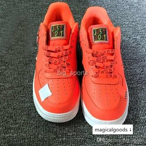 Mens Womens Running Shoes White orange Fashion Forcing low Sports sneakers Casual 1 presto Trainers Chaussures