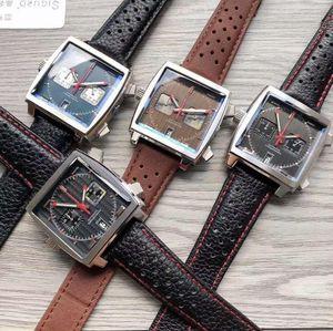 2020 New 10 color Monaco 24 calibre 39 tag men's watch square quartz design popular CAW sports watch wrist watch 666 G68t#