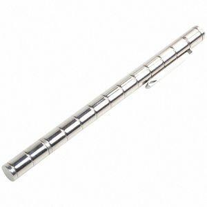 Polar Creative modulaire Pen aimants magnétiques boule jouet presse stylo avec 12 boules en acier adulte Toy argent 3uK4 #
