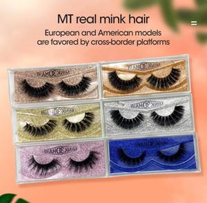 Best Selling 3D Mink Eyelashes Individual Eyelash Extensions Private Logo Custom Eye lash Packaging Box False Mink Eye Lash Package Boxes