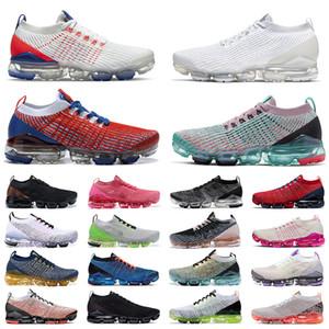 vapormax flyknit vaporfly vapors vapor max fly knit 3.0 2020 yeni varış kadın erkek ayakkabı Üçlü siyah beyaz eğitmenler Spor tasarımcıları Sneakers Koşu Ayakkabıları 36-45