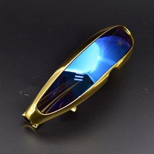 W2020 NOUVEAU drôle futuriste Wrap luxe Hommes Lunettes de soleil Femmes Masque Nouveauté Mode Vintage Lunettes de soleil Lunettes de soleil hombre / mujer