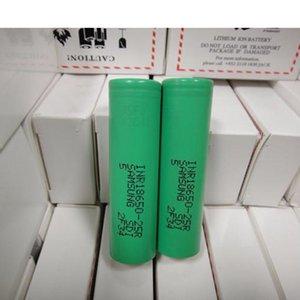 Alta qualidade INR18650 25R 18650 Bateria 2500mAh 20A 3.7V bateria recarregável de lítio recarregável para Samsung