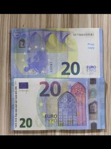 Barre Prop Faux Billet Fake Nightculb Movie Play Money Party Jouets pour enfants 20 50 euros 100pcs / Packe E251