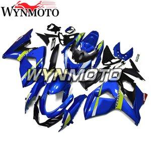 Farierungen für 2010 Suzuki GSXR1000 2009 2011 2012 2013 2014 2015 2016 körperarbeit k9 09 10 11 12 13 14 15 16 Panels ABS Kunststoffeinspritzung blau