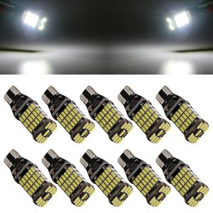 100Pcs / Çok 6000K Beyaz Canbus T15 W16W LED Ampul T16 921 912 906 Led Erroe Ücretsiz Ampul Araç Ters Işık Otomatik Yedekleme Ampüller 4014 SMD