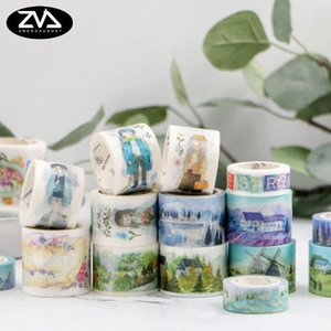 1X Midsummer Nights Dream Series Decorative Washi Tape DIY Scrapbooking Masking Tape School Office Supply Escolar Papelaria 2016 AwsG#