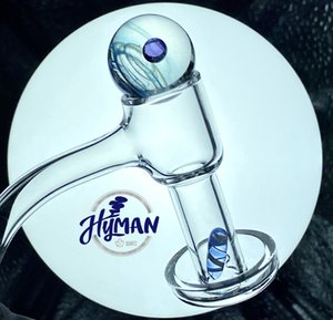 Hot Fully Weld Terp Slurper With Terp Pearls Ball Quartz Banger Nail Domeless nails Terp Vacuum Bangers for Glass Bong smoking water pipes