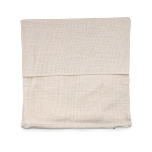16x16 inches natural poly linen pillow case blanks for DIY sublimation plain burlap cushion cover embroidery blanks directly from