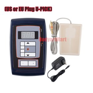 1 Pcs Digital Tattoo Power Supply With LCD Digital Display With Foot switch For Tattoo & Permanent Eyebrow Machine