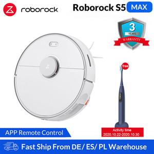 Roborock S5 Max Xiaomi Robot Aspiradora para el hogar inteligente Barrido robótico de limpieza de Mope Actualiza Roborock S50 S55 Mi Robot