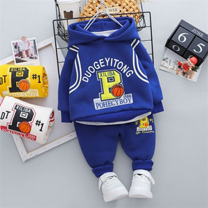 Toddler Boys Clothes Autumn Winter Kids Girls Outfit Suit Children Clothing For Boys Sets Thick Warm Child Casual 1 2 3 4 Years X0923