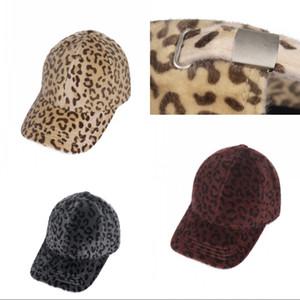 Adult Hip Hop Baseballkappe Geeignet für alle Jahreszeiten Männer Frauen Leopard-Druck-Mode Schirmmützen atmungsaktive Soft 10mha J2