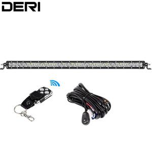 30 31 pouces droit LED Light Work Bar 150W unique ligne Flood spot Combo faisceau 12V 24V pour voiture camion VTT UTV SUV Flagellez lampe
