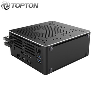 Intel 10750H i9 9980HK Gaming Mini PC Windows 10 2 Intel Lans computador desktop Sistema PC 2 * DDR4 2 * M2 AC WiFi 4K HTPC HDMI DP