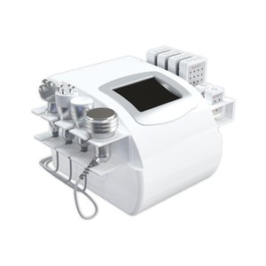 Portable Multi Function Diode Lipolaser Cavitation Vacuum RF Body Fat Removal Equipment OEM Customized Client's Logo