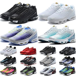 Air Max TN Plus 3 Scarpe da corsa Uomo Donna Northern Southern Lights Sea Forest Carbon Grigio Bianco Nero Rosso Giallo Outdoor Trainer Sport Sneakers Vendita online